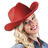 Hoed Rodeo rood