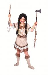 INDIAN SIOUX GIRL with belt and bootcovers
