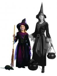 WITCH MIDNIGHT with hat and belt