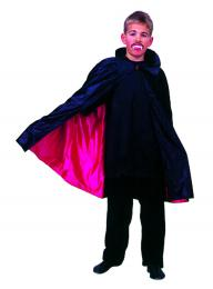 DRACULA CAPE BLACK RED nylon