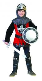KNIGHT ANSELM velvet with headcap, belt and bootcovers