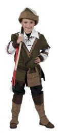 ROBIN HOOD SHIRT with hat, belt and bootcovers