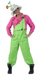 GARDEN TROUSERS FLUO GREEN
