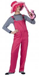 GARDEN TROUSERS FLUO PINK