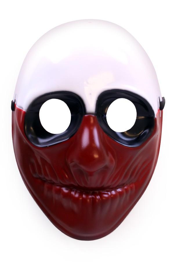 Masker hard plastic Blood face Halloween
