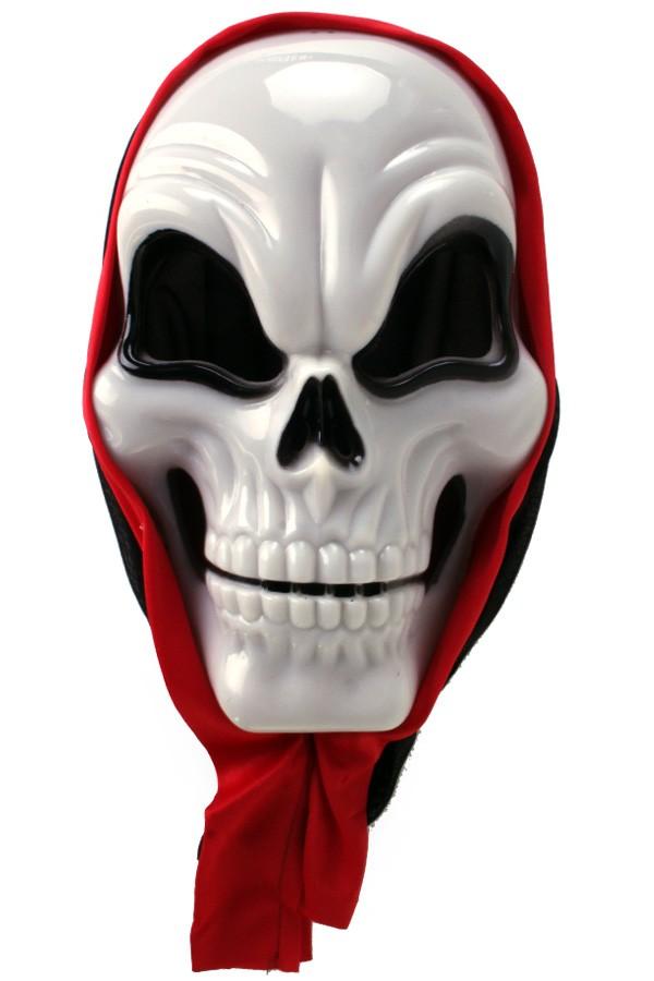 Masker hard plastic doodshoofd Halloween