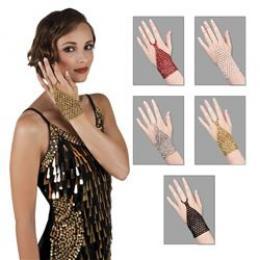Handschoen 5 kleuren ass.