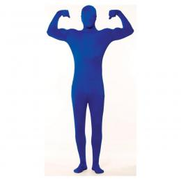 Skinny suit blauw