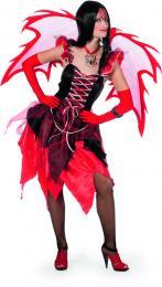 Fairytale jurkje rood zwart