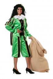 Piet fluweel zwart groen