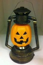 Halloween pompoen lantaarn zonder licht